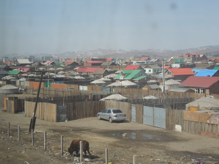 Arriving into Ulaanbatar