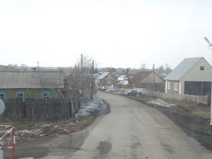 Village near Novosibirsk